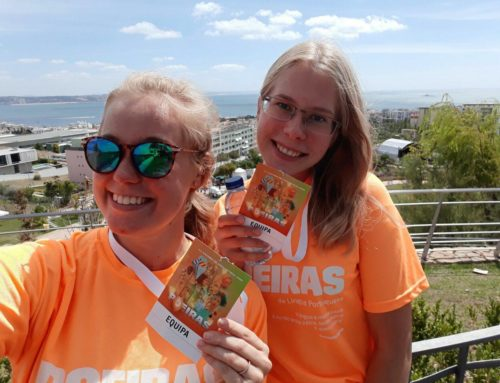 ANU ANNUS – EVS VOLUNTEER IN PORTUGAL