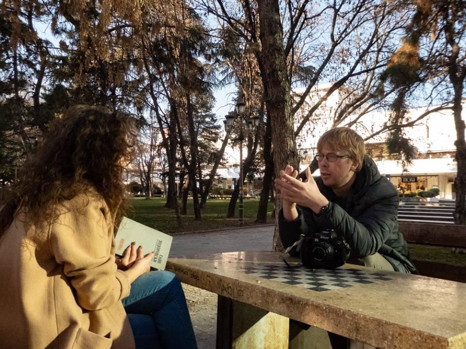 madis-siim kull vabatahtlik teenistus european voluntary service macedonia