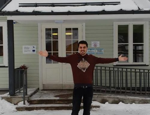 AYKUT SAHINBAS – VOLUNTEER FROM TURKEY IN SUURE-JAANI YOUTH CENTER