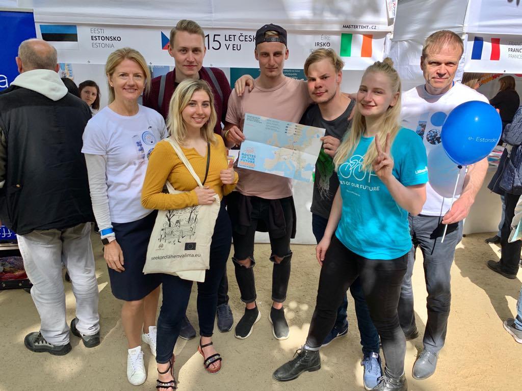 nooretevahetus youth exchange nyh estonia eesti roof