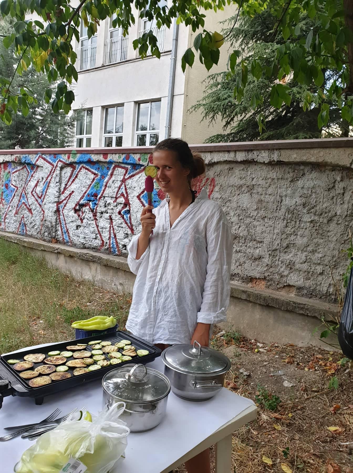 evs volunteer roma evt triine viisma vabatahtlik volunteer macedonia