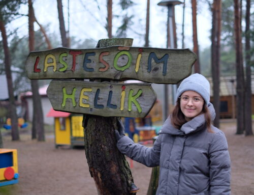 SOFIA MEKHONOSHINA – VOLUNTEER FROM RUSSIA IN HELLIK NURSERY