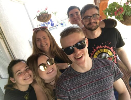 Your Voice Matters Youth Exchange – INTERVIEW WITH TARVO, ALO, MARION, REIKO, KATLIN AND JOHANNA