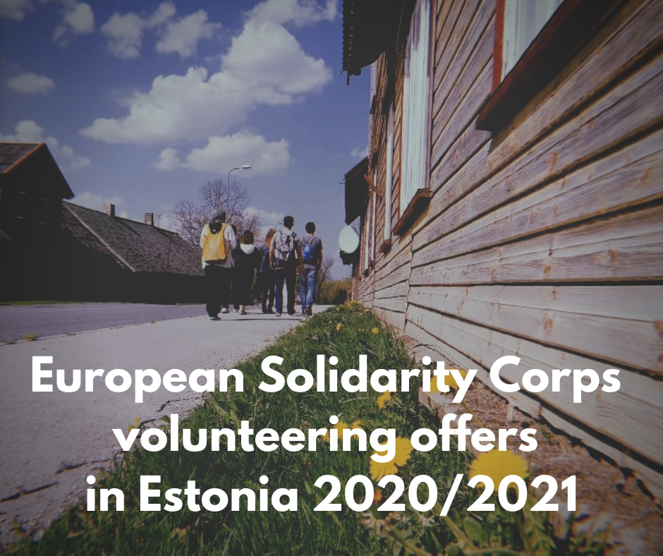 Call for Volunteers for European Solidarity Corps nyh esc fellowship