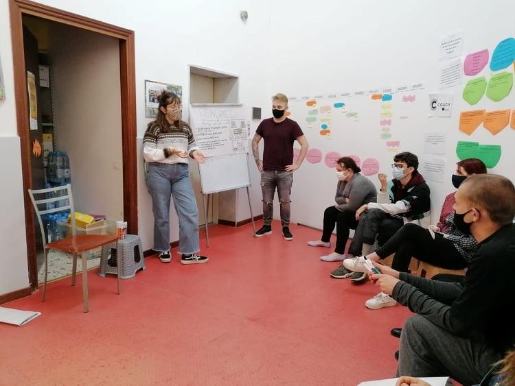 brigitta sadam EUROOPA SOLIDAARSUSKORPUS solidarity sicily