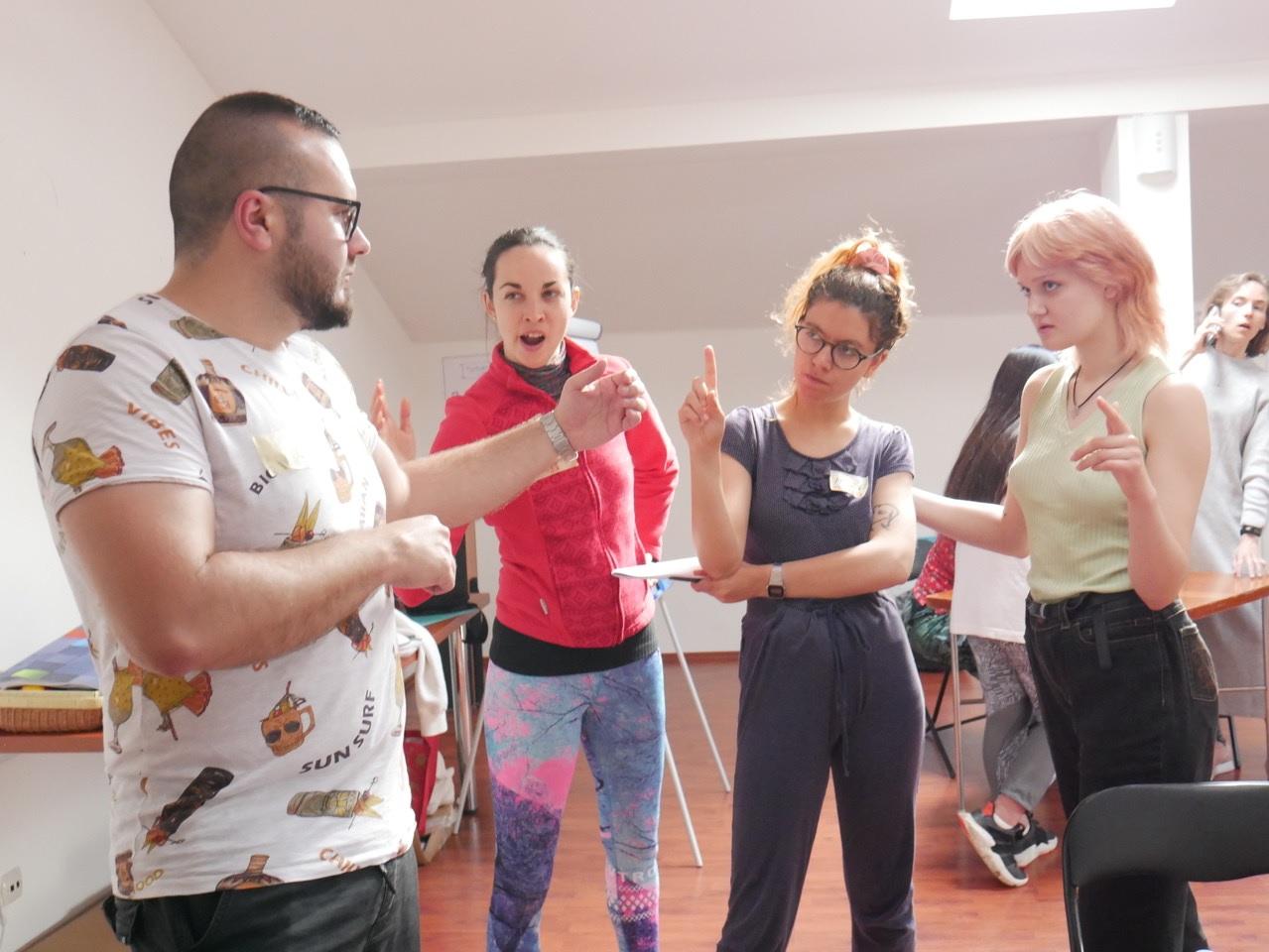 koolitus training course nyh poland poola artitudes attitudes