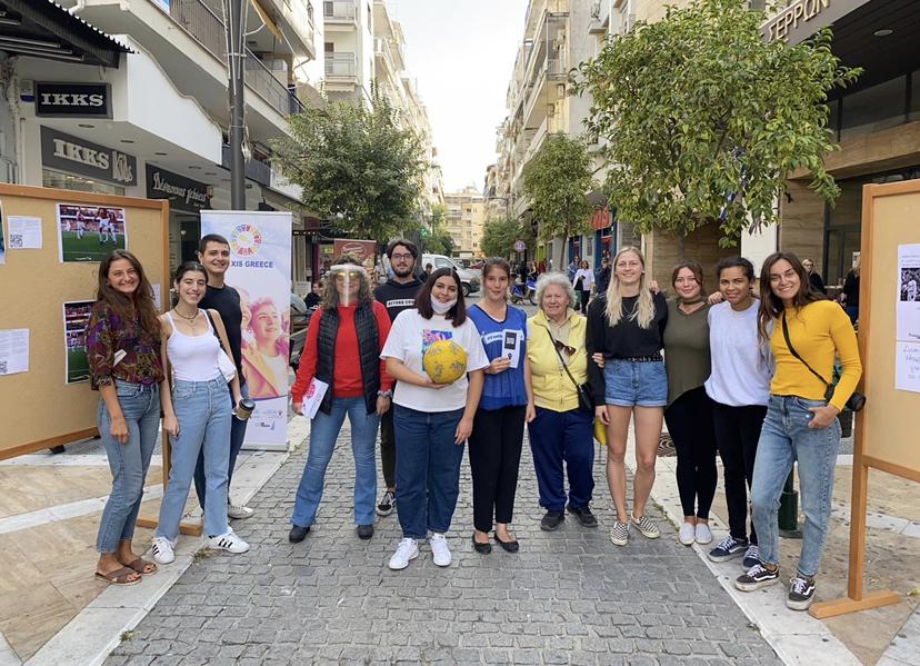 esc volunteer kreekas greece karolin kasper vabatahtlik eesti