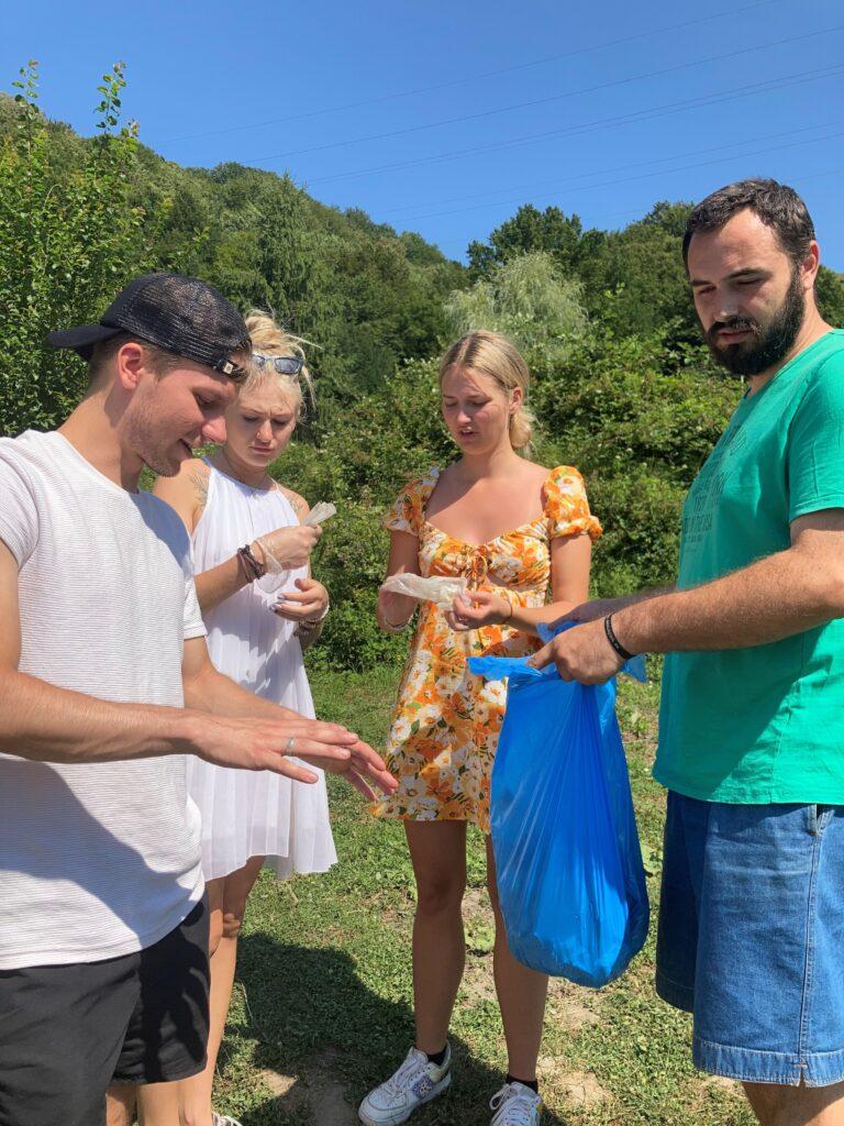 nooretevahetus youth exchange nyh romania recycling